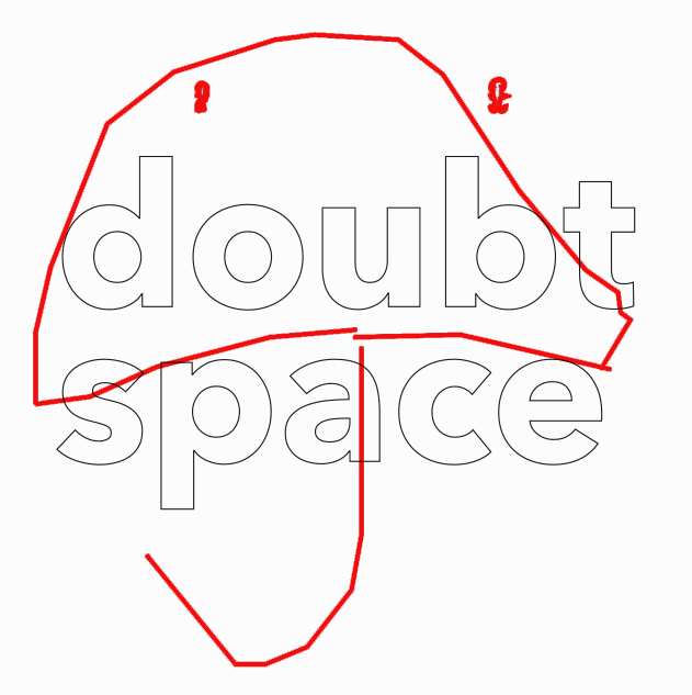 doubt space